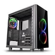 Gabinete TT View 31 RGB Black WIN Tempered Glass X2 CA-1H8-00M1WN-01 - Thermaltake