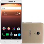 Smartphone A3 XL 9008J, Processador Quad Core, Android 7.0, Tela 6, 8MP, 16GB, Dual chip, Dourado - Alcatel