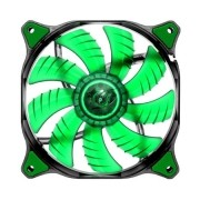 Cooler para Gabinete 120mm Dual-X Green LED CF-D12HB-G - Cougar