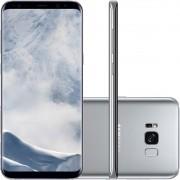 Smartphone Galaxy S8+ Dual Chip Android 7.0 Tela 6.2 Octa-Core 2.3 GHz 64GB Câmera 12MP SM-G955FD Prata - Samsung