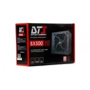 Fonte ATX 500W BX500 80 Plus Bronze (PFC Ativo) - DT3 Sports