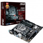 Placa Mãe LGA 1151 Prime Z270M-PLUS/BR 4x DDR4 - Asus