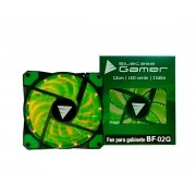 Cooler para Gabinete 120mm LED Verde BF-02G - Bluecase