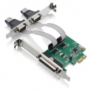 Placa PCI Express com 2 Serial + 1 Paralela GA128 - Multilaser
