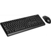Teclado e Mouse Wireless 2.4GHz USB TC162 Preto - Multilaser