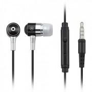 Fone Auricular Com Microfone Preto P2 PH059 (Compativel Com Iphone) - Multilaser