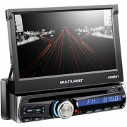 Som Automotivo MP5 Slide C/TV + BT LCD 7 Radio Alerta de Radares P3211 - Multilaser