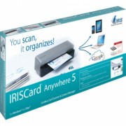 Scanner IrisCard Anywhere 5 Digitalizador de Imagem Portatil 457486 - I.R.I.S.