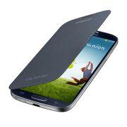 Capa Flip Cover para Galaxy S4 - EF-FI950BBEGWW Preto - Samsung