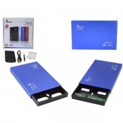 Case 2,5 HD Sata 2+0 Externo Azul KP-HD006 CS0032AZ - Knup