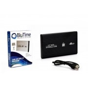 Case 2.5 HD Sata USB 2.0 Para PC e Notebook BT-CS001 (CS0026BLU) -  BLU TIME