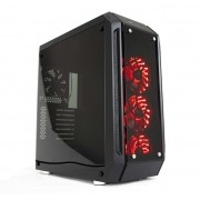 Gabinete ATX Apollo LED RGB (Lateral Vidro Temperado) 10698-4 - DT3 Sports