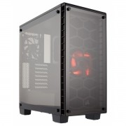 Gabinete ATX Crystal Series 460X LED Vermelho (Vidro Temperado) CC-9011099-WW - Corsair