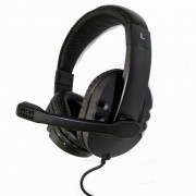 Headset Acolchoado HSP200 Preto - PCTop
