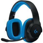 Headset com Fio Gamer G233 (981-000702)- Logitech