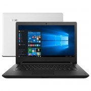 Notebook Ideapad 110 Intel Dual Core 4GB 500GB LED 14 Windows 10 - Lenovo