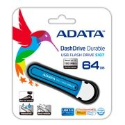Pen Drive 64GB USB 3.0 Azul AS107-64G-RBL - Adata