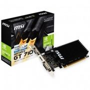 Placa de Vídeo Geforce GT 710 1GB DDR3 1GD3H LP 912-V809-2022 - MSI