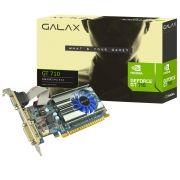 Placa de Video GeForce GT 710 2GB DDR3 64 Bits DVI/HDMI/VGA Pcie 2.0 71GPH4HXJ4FN - Galax