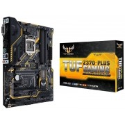 Placa Mãe LGA 1151 Z370-Plus TUF Gaming DDR4 Aura Sync RGB LED USB 3.1 M2 - Asus