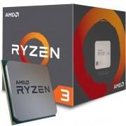 Processador AM4 Ryzen 3 1200 c/ Wraith Cooler, Quad Core, Cache 10MB, 3.1GHz (3.4GHz Max Turbo) YD1200BBAEBOX - AMD