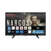 Smart TV Led 32 LE32S5970, Conversor Digital, WI-FI, 3 HDMI, 2 USB - AOC