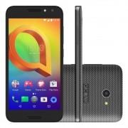 Smartphone A3 5046J, Quad Core, Android 6.0, Tela 5, 8MP, 16GB, 4G, Dual Chip, Preto - Alcatel