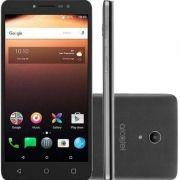 Smartphone A3 XL Max Cinza, 9008N Tela 6 IPS HD, 32GB, 3GB RAM, Quad-Core, Android 7.0, Câmera 8MP + Frontal de 5MP, Bateria 3000Mah - Alcatel