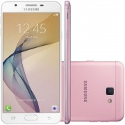 Smartphone Galaxy J5 Prime SM-G570M, Quad Core 1.4Ghz, Android 6.0.1,Tela 5, 32GB, 13MP, Leitor Digital, Dual Chip, Rose - Samsung
