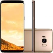 Smartphone Galaxy S8 G950FD, Octa Core 2.3Ghz, Android 7.0, Tela 5.8, 64GB, 4GB RAM,12MP Dual Pixel, 4G, Dourado - Samsung