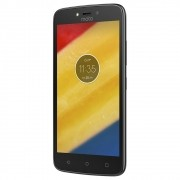 Smartphone Moto C PLUS XT1726 Quad-Core, Android 7.0, Tela 5, 8GB, 8MP, 4G, Dual Chip Preto - Motorola