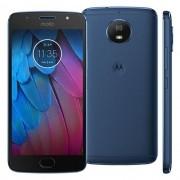 Smartphone Moto G5 S XT1792 Octa-Core Android 7.1, Tela 5.2, 32GB, 16MP, 4G, Dual Chip, Azul - Motorola