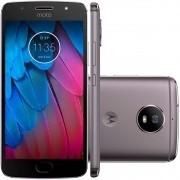 Smartphone Moto G5 S XT1792 Octa-Core Android 7.1, Tela 5.2, 32GB, 16MP, 4G, Dual Chip Platinum - Motorola