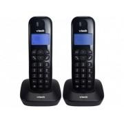 Telefone Sem Fio VT680-MRD2 + 1 Ramal, Identificador de Chamada Preto - VTech