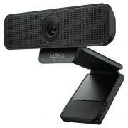 Webcam C925e HD com vídeo 1080p 30fps Preta - Logitech