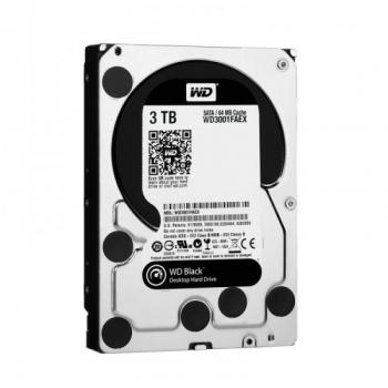 Hard Disk 3TB 7200RPM 64MB Sata III Caviar Black WD3001FAEX - Western Digital