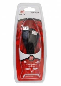 Cabo Extensor USB MO-P30 Femea x Femea 2m - MOX