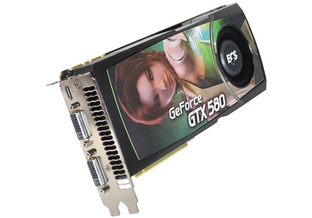 Placa de Video GeForce GTX580 1.5GB GDDR5 384Bits NGTX580-1536PI-F - ECS