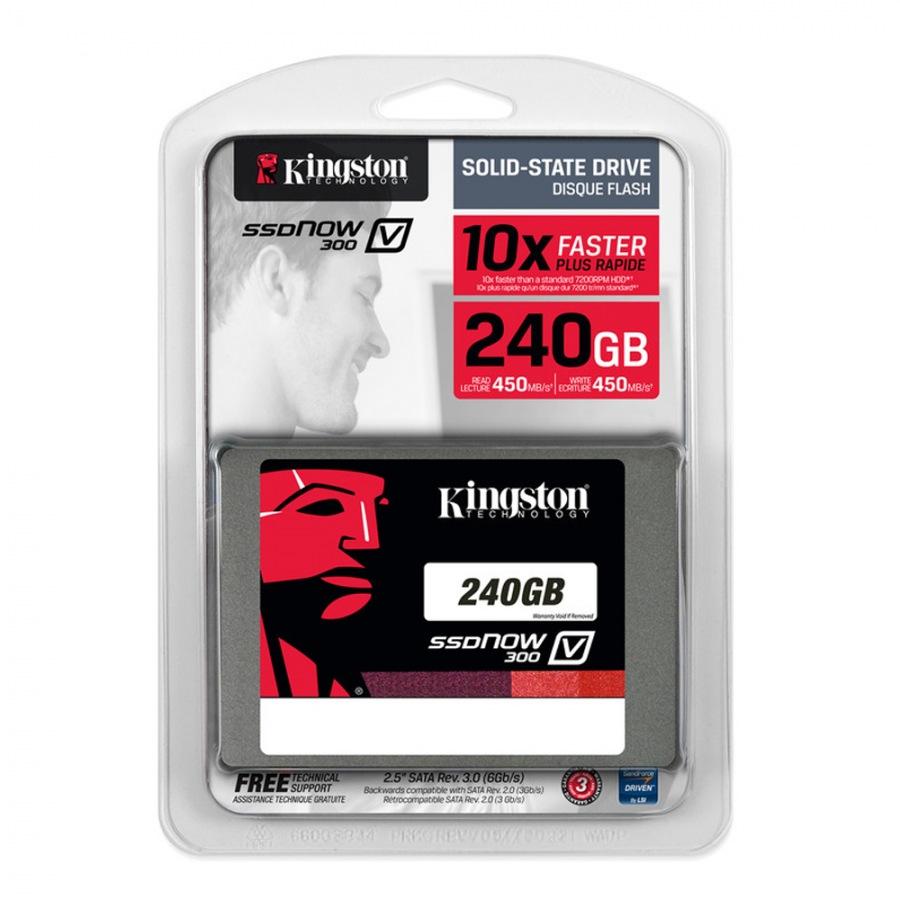 SSD 240GB V300 Sata III 2.5 Blister SV300S37A/240G - Kingston