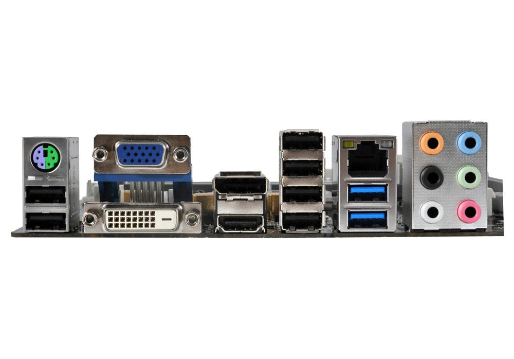 Placa Mãe LGA 1150 Z87H3-A4 (S/V/R) - ECS