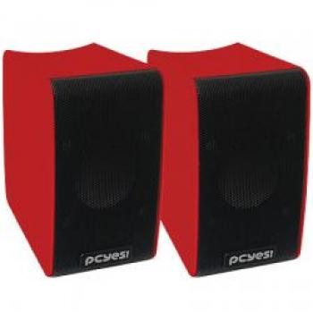 Caixa de Som Portatil Bolt 6W RMS USB Vermelha