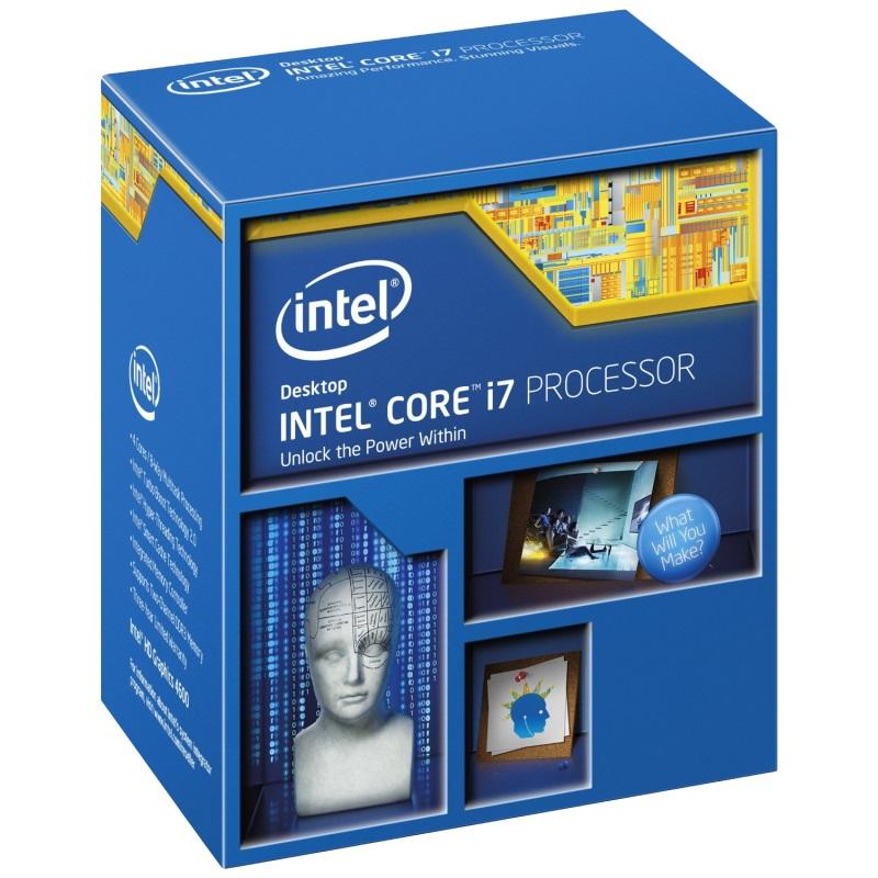 Processador 4 Geracao LGA 1150 Core i7 4790 3.6GHz 8MB BX80646I74790 Box  Intel