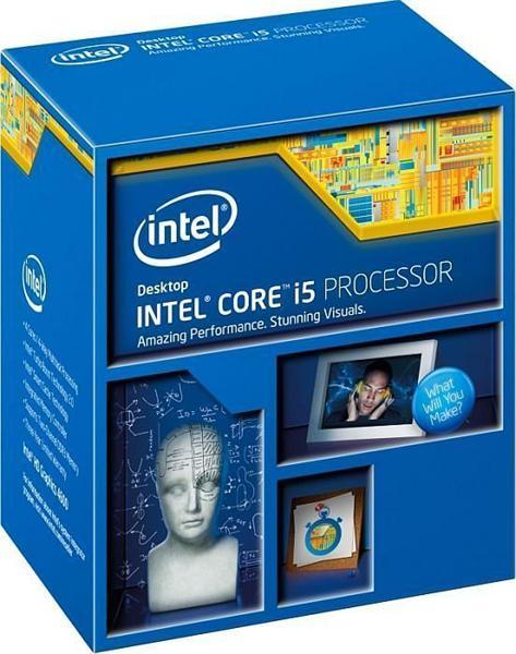 Processador 4 Geracao LGA 1150 Core i5 4590 3.30Ghz BX80646i54590 Box  Intel