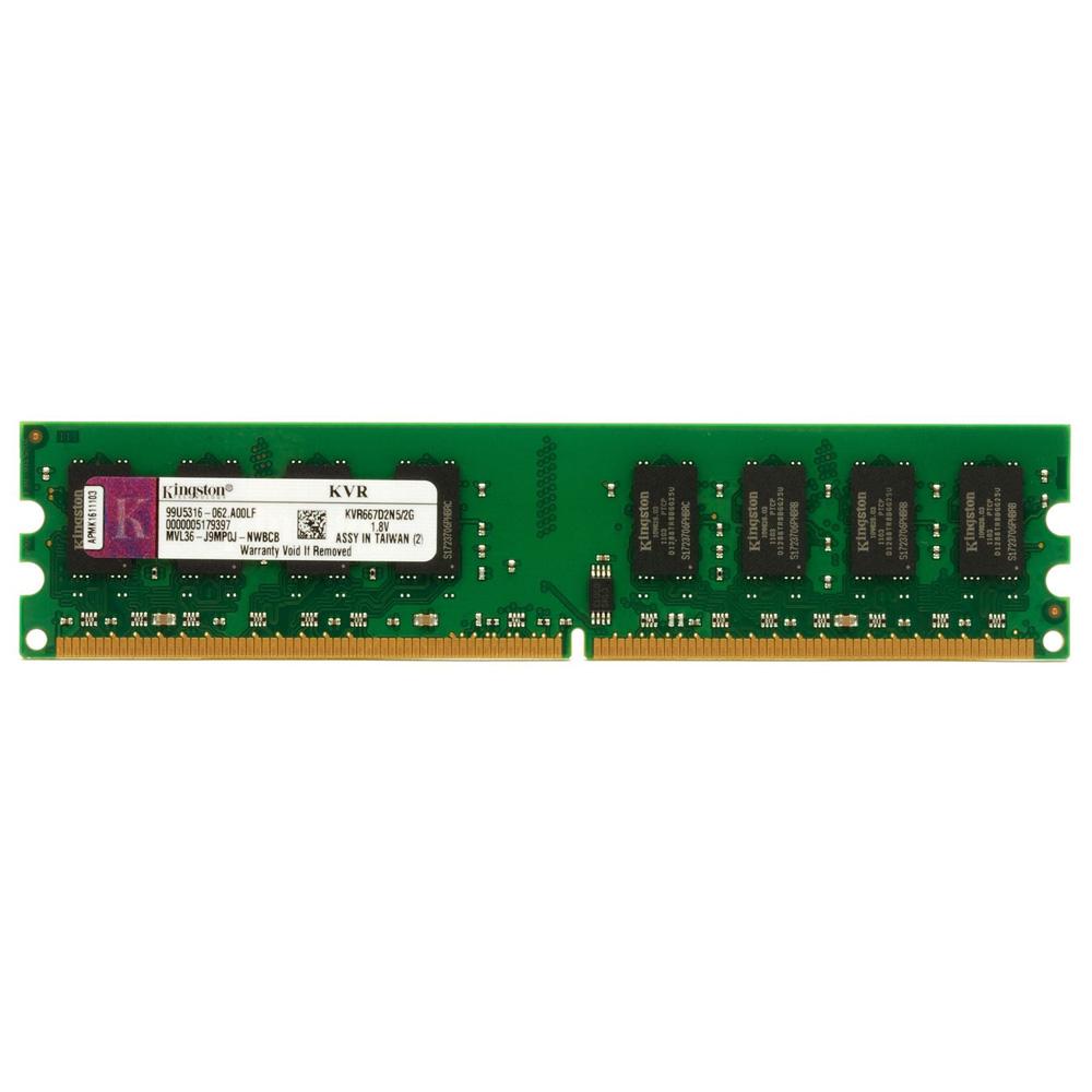 Memoria de 2GB DDR2 667Mhz KVR667D2N5/2GB - Kingston