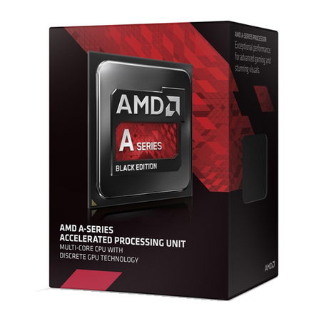 Processador AMD FM2 A10 7700K Black Edition 3.5GHz Max Turbo 4MB FM2 AD770KXBJABOX  AMD