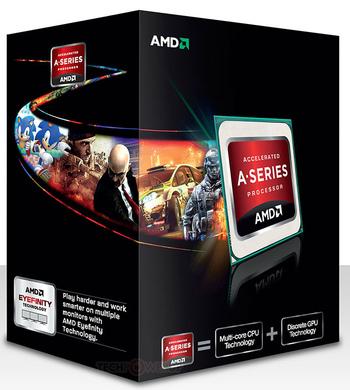 Processador FM2 A10 X4 5800K Quad Core 4MB 3800Mhz AD580KWOHJBOX HD7660D Integrada AMD