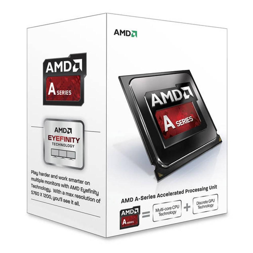 Processador FM2 A4 4000 Dual Core 3.0GHz (3.2GHz Turbo) BOX AD4000OKHLBOX - AMD