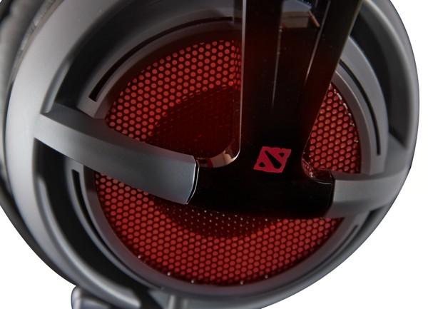 Headset Siberia V2 DOTA 2 Edition com Microfone USB (LED Vermelho) 51143 - Steelseries