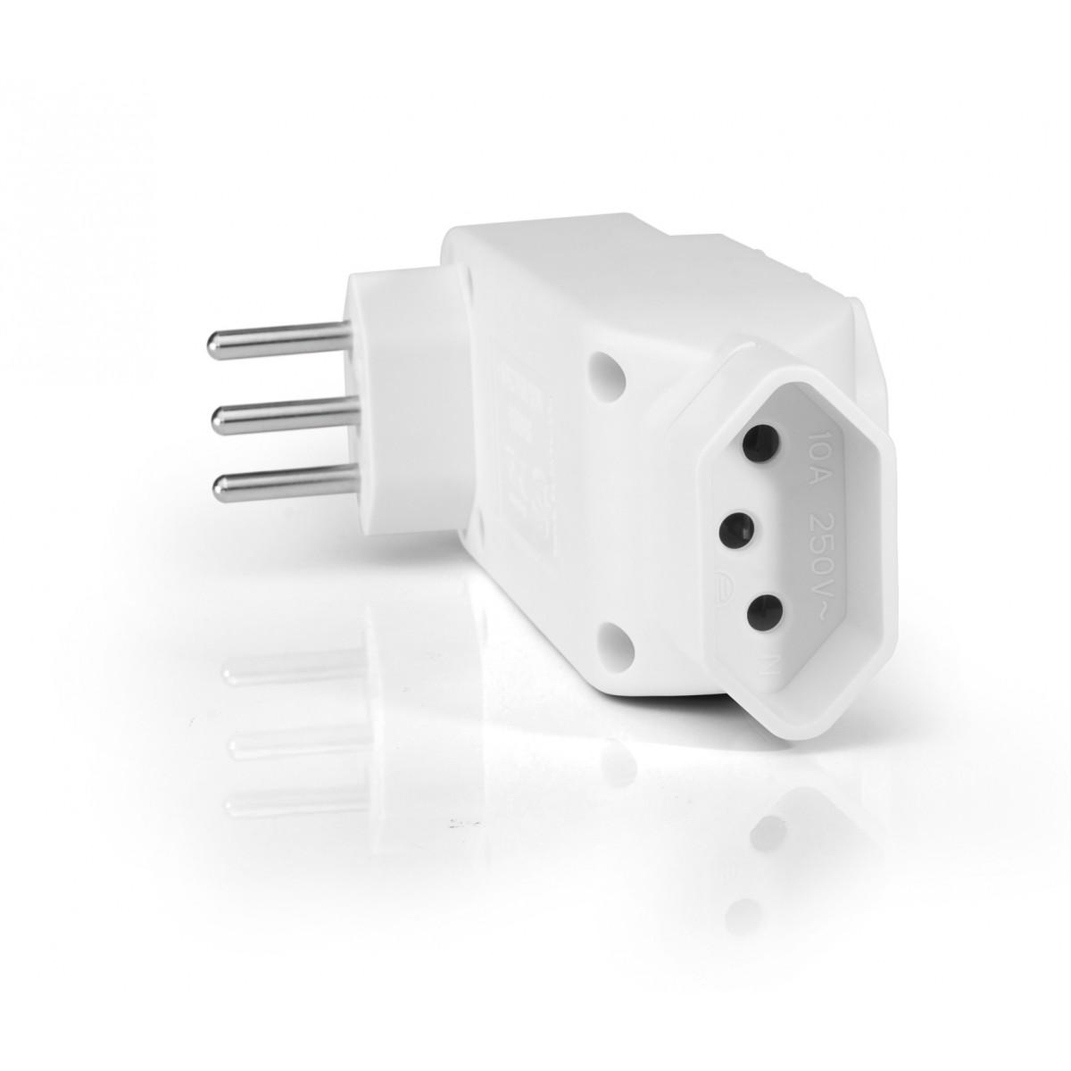 Adaptador 4 Saidas Branco WI246 - Multilaser