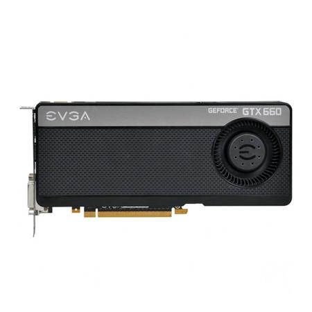 Placa de Video GeForce GTX660 2GB DDR5 192Bits Blower Fan 02G-P4-2660-KR - EVGA